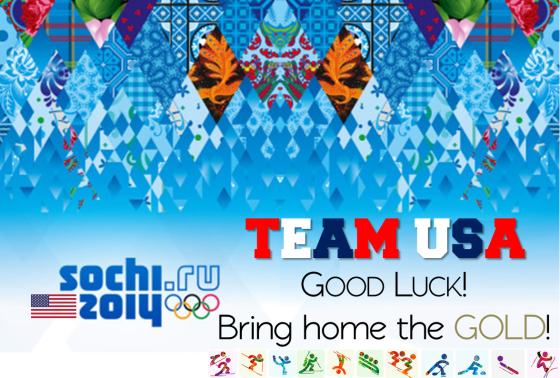 SOCHI2014 | GO TEAM USA!!