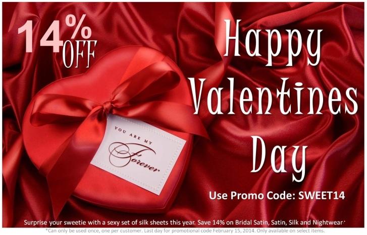 Valentines Day Promo 2014